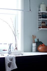 Et Nytt Kapittel - kitchen, black and white