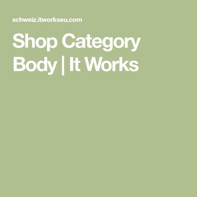 Shop Category Body | It Works