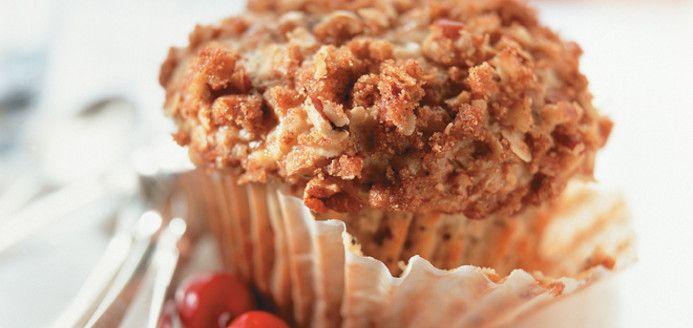 Muffins aux canneberges et au citron Recettes   Ricardo