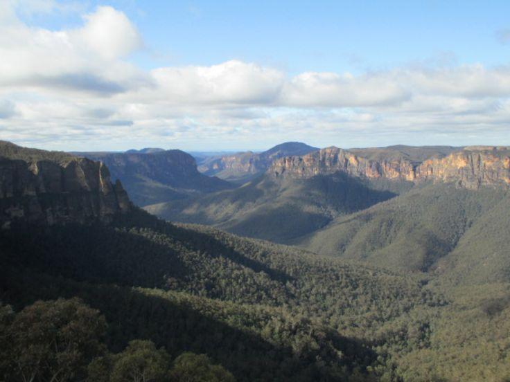"""Panorama des Blue Mountains - Carnet de voyage """"Une année en Australie !"""""""