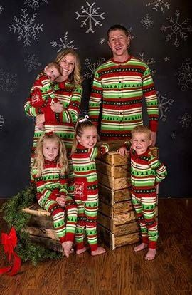 Hey, I found this really awesome Etsy listing at https://www.etsy.com/listing/252156801/christmas-pajamas-matching-christmas