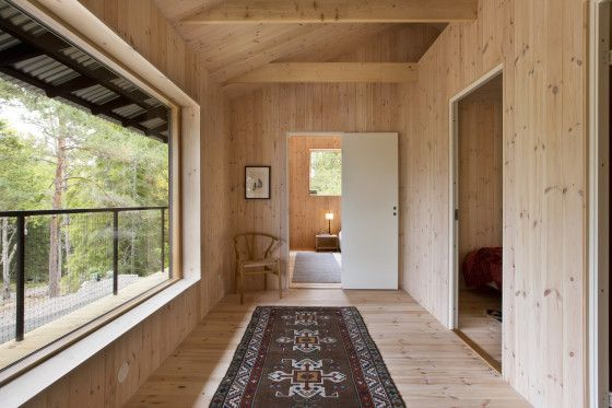 Pasadizo de madera