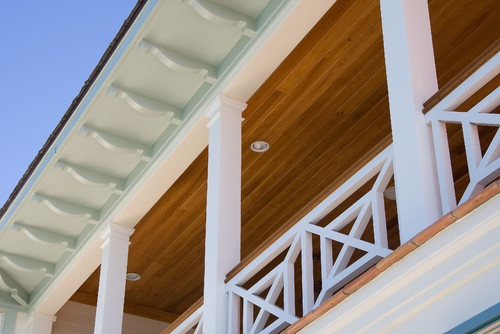 British West Indies Residence - traditional - exterior - other metro - Village Architects AIA, Inc.