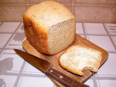 PaniKa w kuchni: Chleb pszenno - kukurydziany z automatu