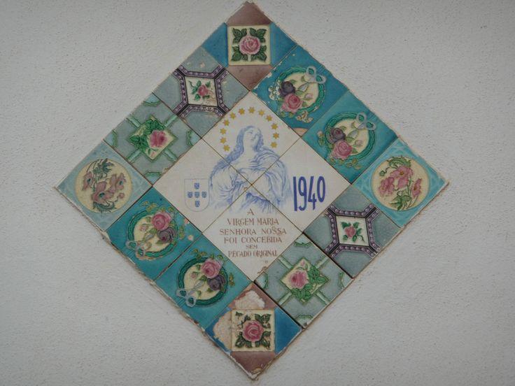 Câmara de Lobos | c. 1940 #Azulejo #NossaSenhoradaConceição #ArteNova #ArtNouveau