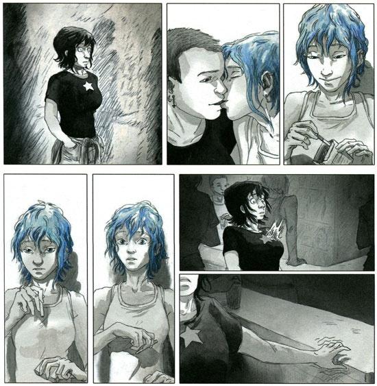 De winnende film Blue is the warmest colour op het filmfestival van Cannes is eerder als stripboek verschenen.