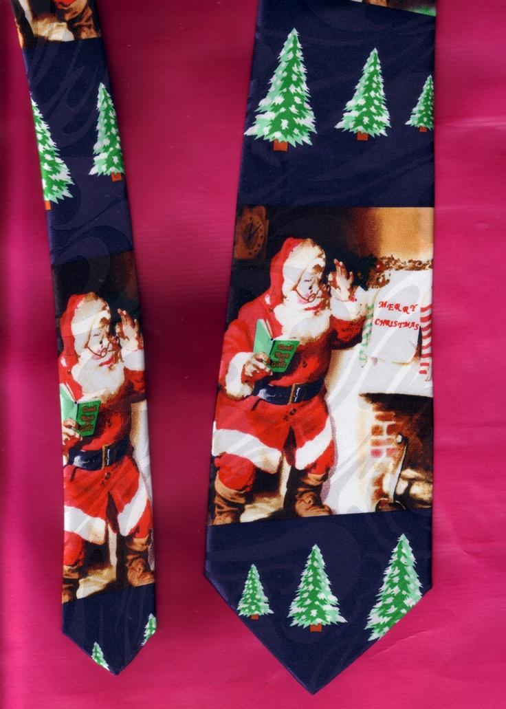 Santa necktie