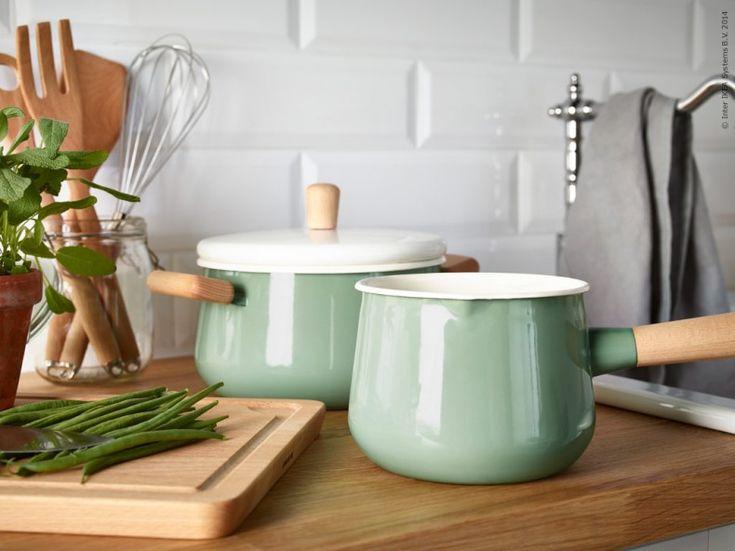 Kok Handtag Retro : kok retro ikea  och 3 liter Kok Pinterest Ikea, Charms and Enamels