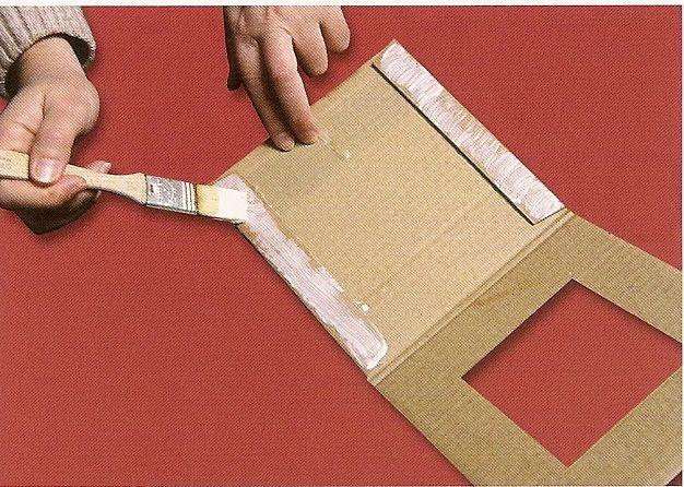 63 best carton encadrement images on Pinterest Picture frame - Fabriquer Une Chambre Noire En Carton