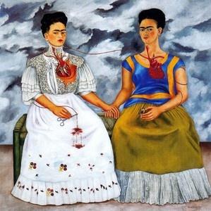 Frida Kahlo: Kahlo Paintings, Artists, Diego Rivera, Both, Fridakhalo, Fridakahlo, Dose Fridas, Frida Khalo, Frida Kahlo