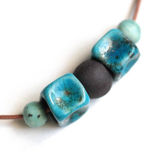 Ceramic necklace N.12 - by Cozy Memories