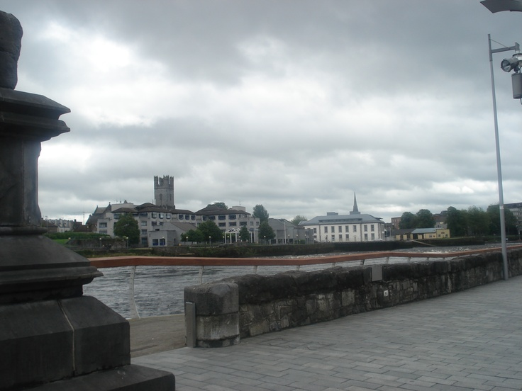 View of City Hall and St. Mary's Cathedral