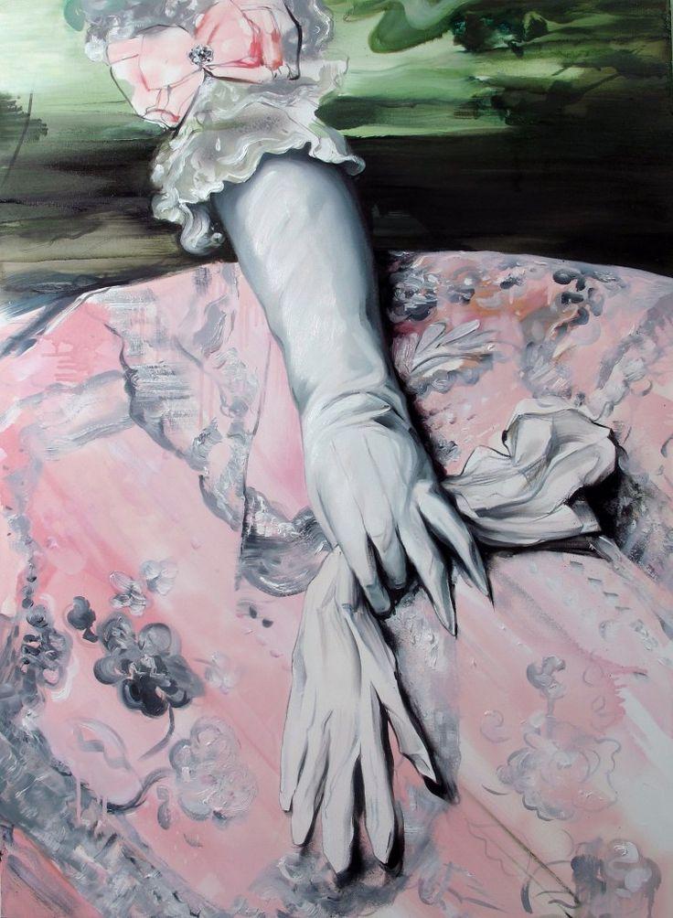 Ewa Juszkiewicz, Bez tytułu, 2014, olej na płótnie, 80 x 60 cm