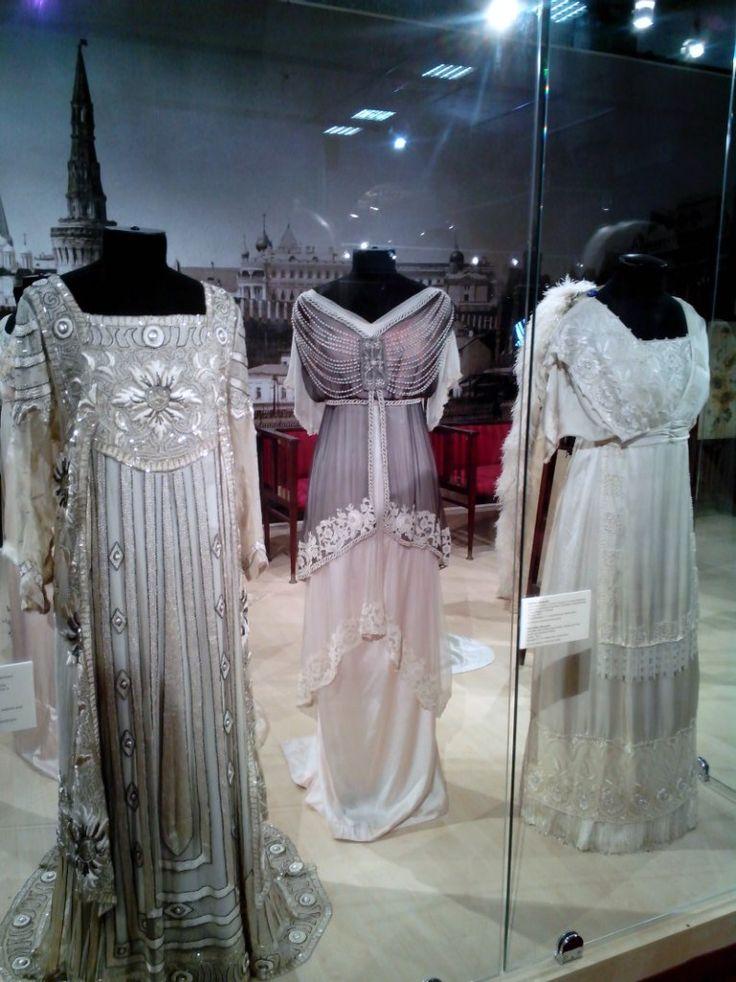 Russian ball dresses. 1910. #Russian #history #Romanov