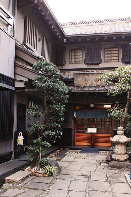 Tempra restaurant, Tokyo, Japan