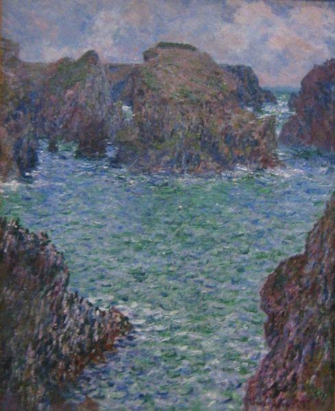 Monet, Port-Goulphar, Belle Île, 1887