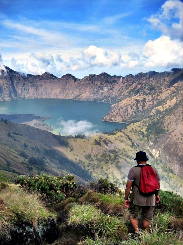 Rinjani Mt. Lombok, Indonesia