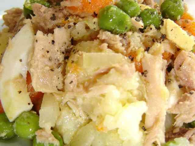 マヨネーズなしのサッパリポテトサラダの画像
