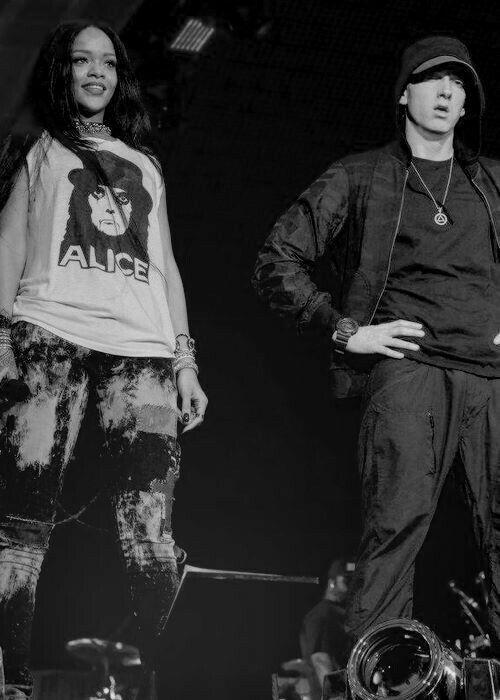 Rihanna and Eminem | ❤️RiRi❤️ | Eminem rihanna, Eminem