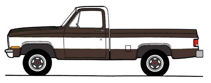 Square body clip art, use this for testing out different colours on the computer.