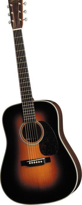 MARTIN D-28 Marquis Acoustic Guitar Sunburst