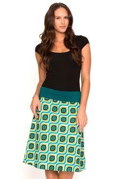 Sita Skirt Afro Green