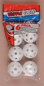 Wiffle Praxis Golfb�lle�-�6�Pack