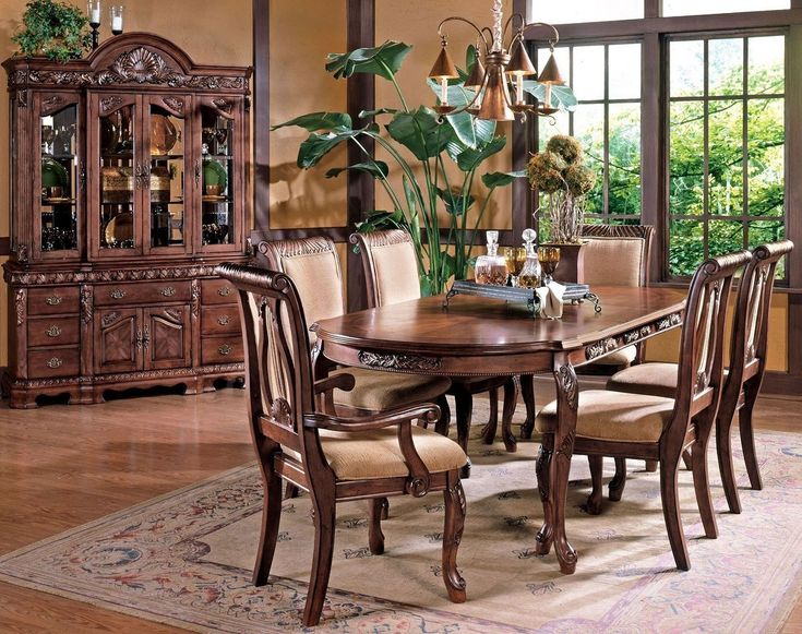 Harmony Dining Room Set (Cherry) In 2019