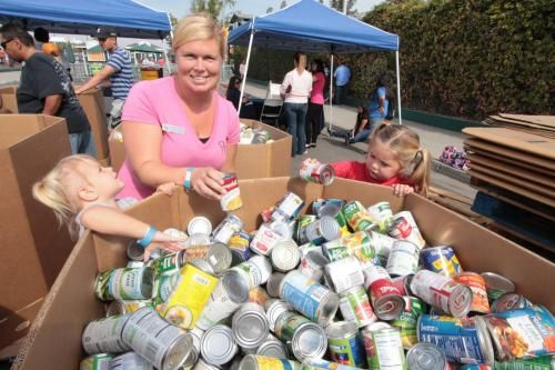 """Give back to your community and participate in the 2017 """"Feed the Need"""" Food Drive, hosted by Save Mart Supermarkets & FoodMaxx on Thurs, 10/12/17 from 11 a.m. until 8 p.m. If you bring 5 cans of food or non-perishable food items (per person), you can get into the Fair for FREE, on Thurs, 10/12 only! Your donation will be given to The Salvation Army and Community Food Bank to help local families in need. Support your community and experience some BIG fun at the Fair!"""