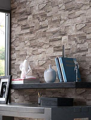 17 beste ideer om Wohnwand Braun på Pinterest Wandfarbe braun - graue wand und stein