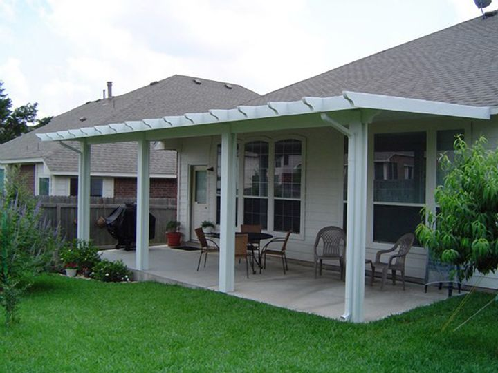 Patio Cover For Front House And Barn