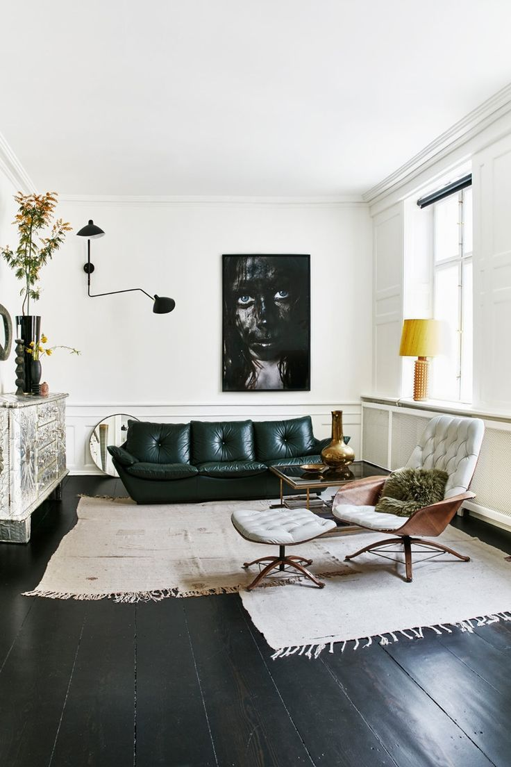 This Minimalist White Living Room Is The Perfect Place To Hang Out! The  Black U0026 Part 81