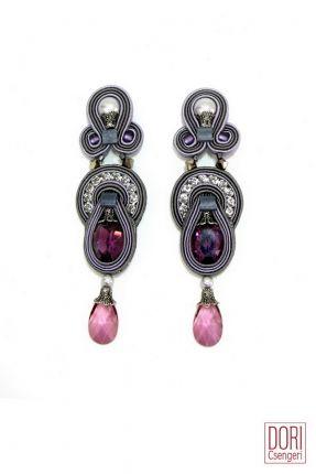 Rhapsody Classic pearl & crystal clip on earrings.  #DoriCsengeri #pearls…