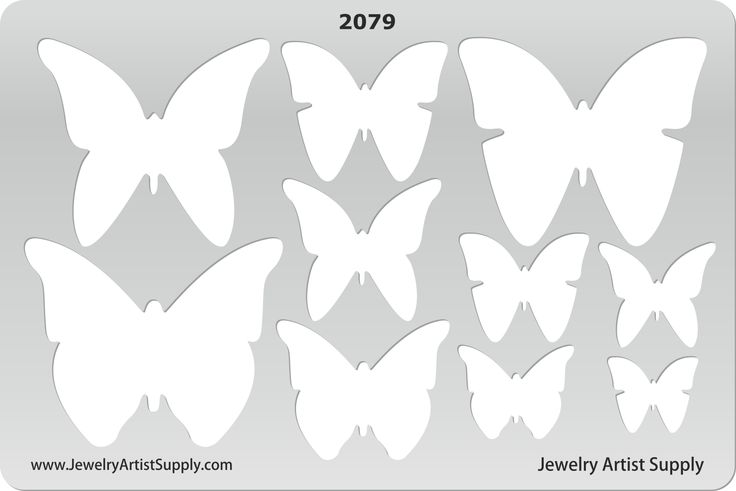 Butterflies Templates - http://www.jewelryartistsupply.com/Butterflies_Template_p/dtp-2079.htm