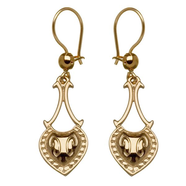 Kalevala Jewelry, Tinkle earrings, 14 carat gold, $415