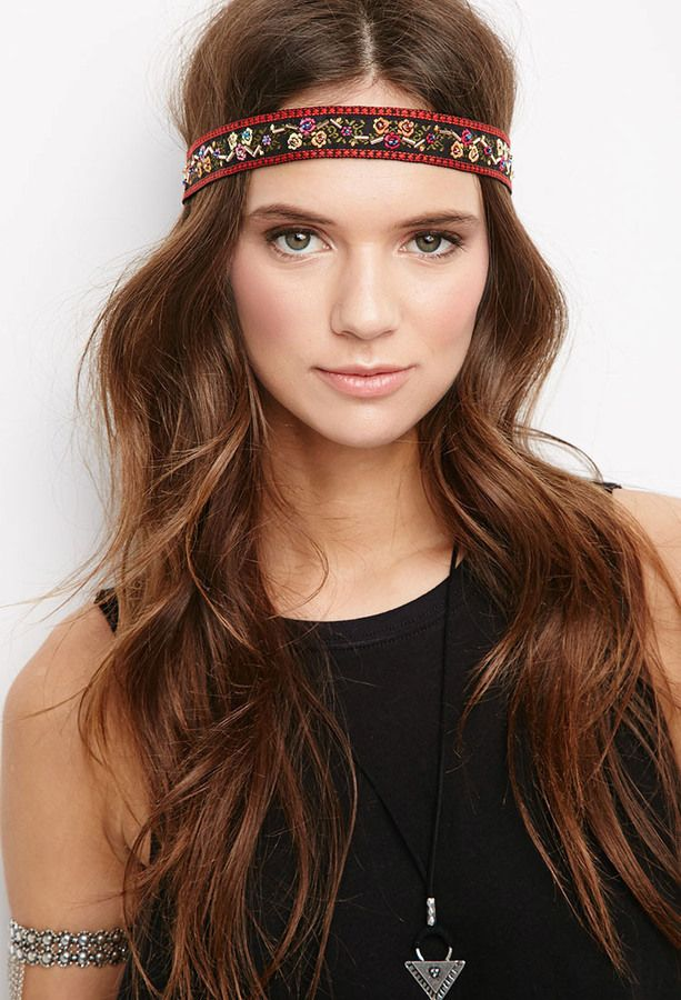 bohemian hair styles 124 best hippie headbands images on boho chic 2597