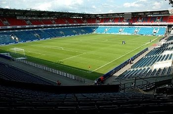 Power-Ranking World Football's 50 Best Stadiums.  Ullevaal Stadion: Oslo, Norway   Opened: 1926    Capacity: 25,000+    Tenants: Valarenga IF and Norwegian National Team    Norway's most recognizable stadium, the Ullevaal Stadium has been hosting matches for nearly a century in Scandinavia and has no plans of closing its doors for a newer venue anytime soon.