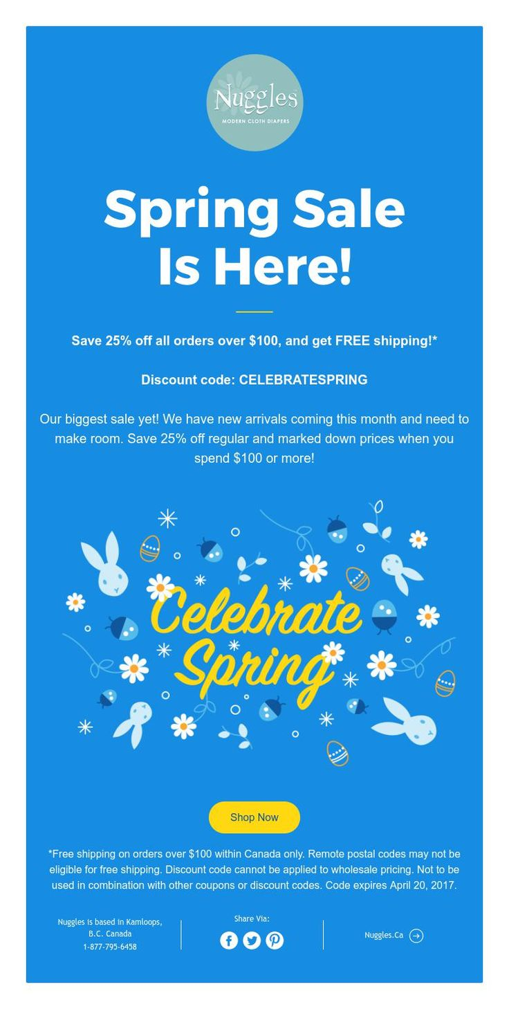 Spring Sale  Is Here!