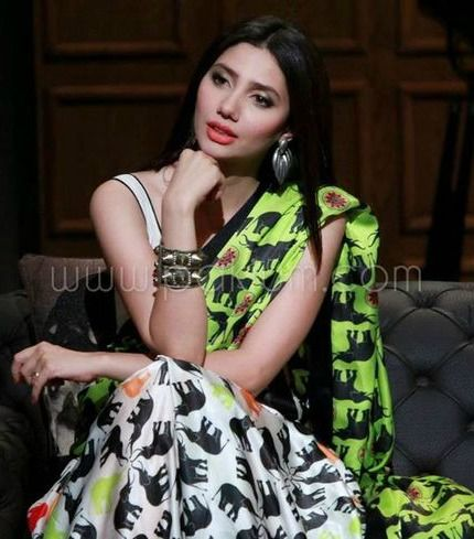 Mahira Khan in Toinght with HSY