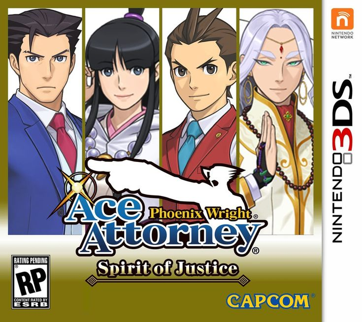 Phoenix Wright Ace Attorney: Spirit Of Justice GIVEAWAY *REGION FREE*