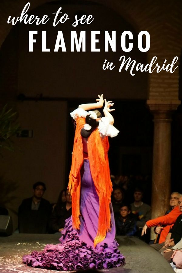Discover where to see the best flamenco in Madrid! madridfoodtour.com