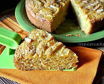 Torta di mele integrale, ricetta senza uova | farina integrale