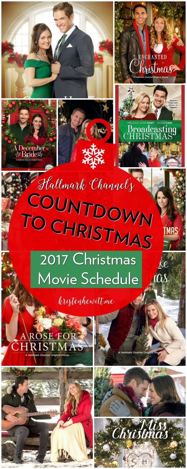 Are you too OBSESSED with Hallmark Christmas movies? Get your schedule here!!!---->Hallmark Christmas Movies 2017 Schedule