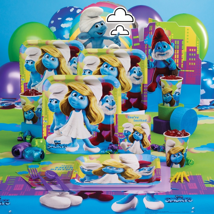 Smurfs Party Supplies, 73894
