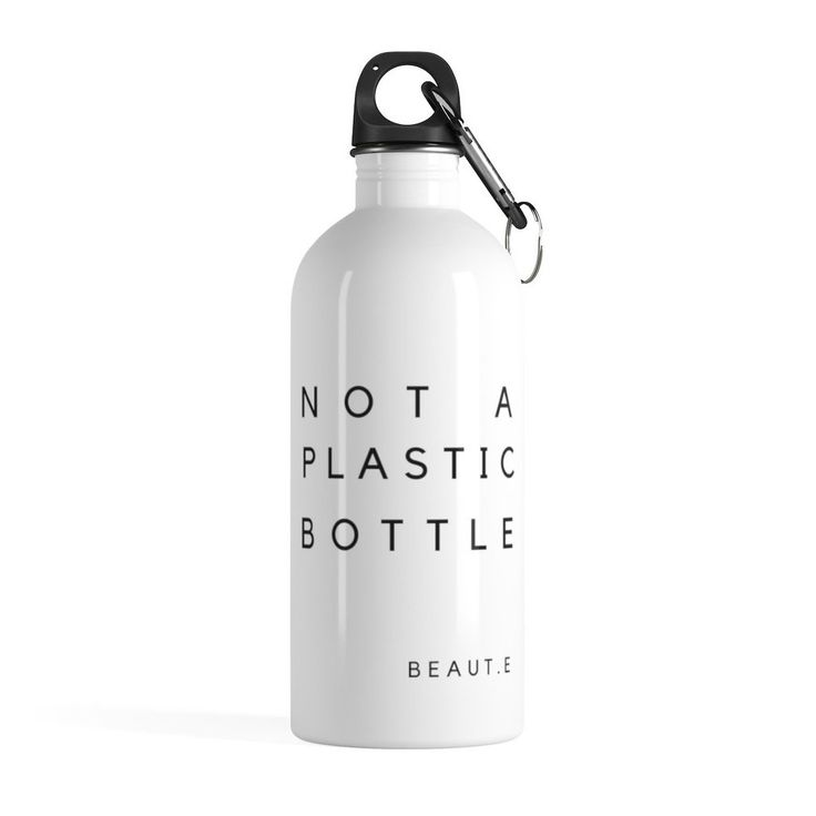 """Not A Plastic Bottle"" Eco Stainless Steel Water Bottle"