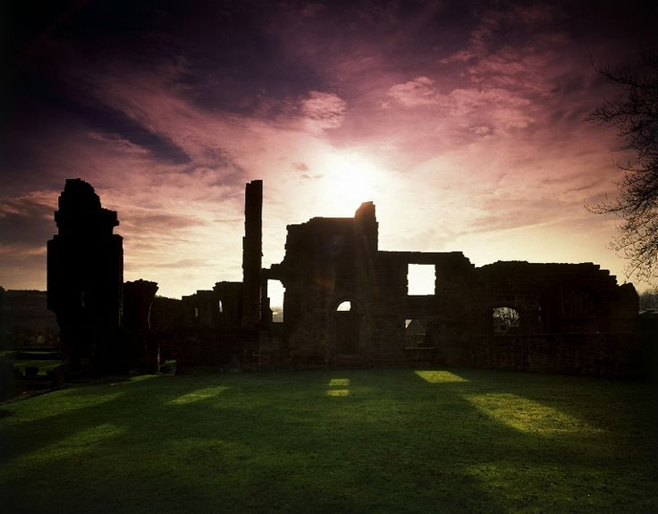 Monk Bretton Priory-  South Yorkshire | The substantial ruins of a Cluniac monastery, with an unusually well-marked ground plan, an almost complete west range and a 15th-century gatehouse.  via English Heritage