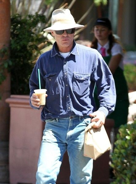 'Phantom' actor Ed Harris stops by Starbucks for an iced coffee in Malibu, California on July 30, 2013.