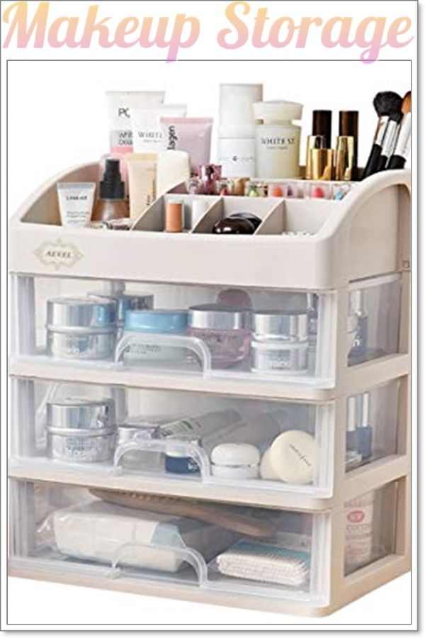 15 Creative Makeup Storage Ideas To Clear The Clutter Once And For