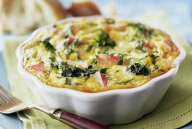Broccoli quiche - Jennifer Levy/Taxi/Getty Images