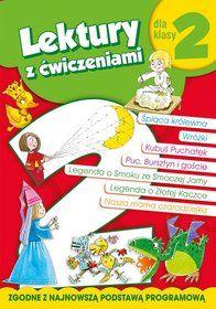 Lektury dla klasy 2 z ćwiczeniami-Wiśniewska Anna, Micińska-Łyżniak…